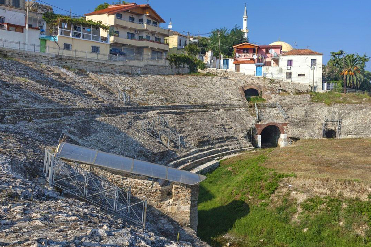 roman amphitheater of durres