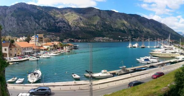 kotor port view