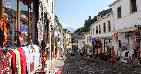 qafa pazarit old-bazaar gjirokaster