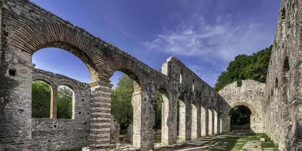 ruins at butrint