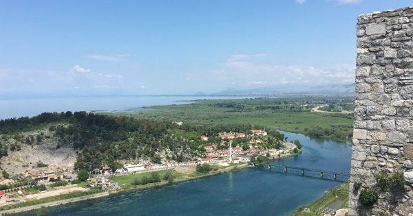 shkodra castle view