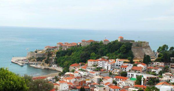 ulcinj view montenegro