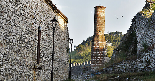 berat castle chimney