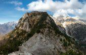 valbone to theth ridge north albania