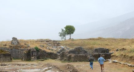 adrianople gjirokaster rainy men running