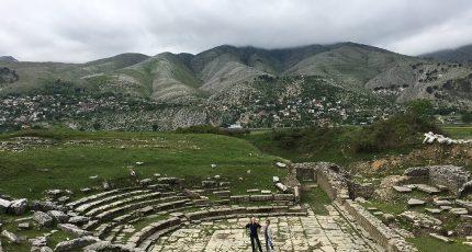 adrianople roman ruins gjirokaster albania