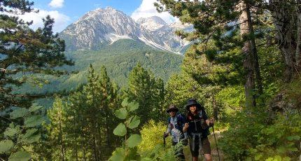 albanian alps valbona trekking