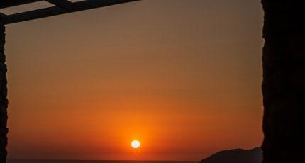 albanian riviera sunset