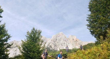 catalans trekking valbona albanian alps