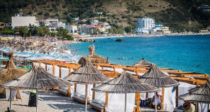 himara beach summer