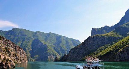 komani lake ferry trip