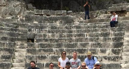 norwegian group butrint theatre