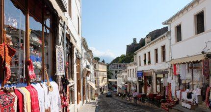 qafa pazarit old bazaar gjirokaster