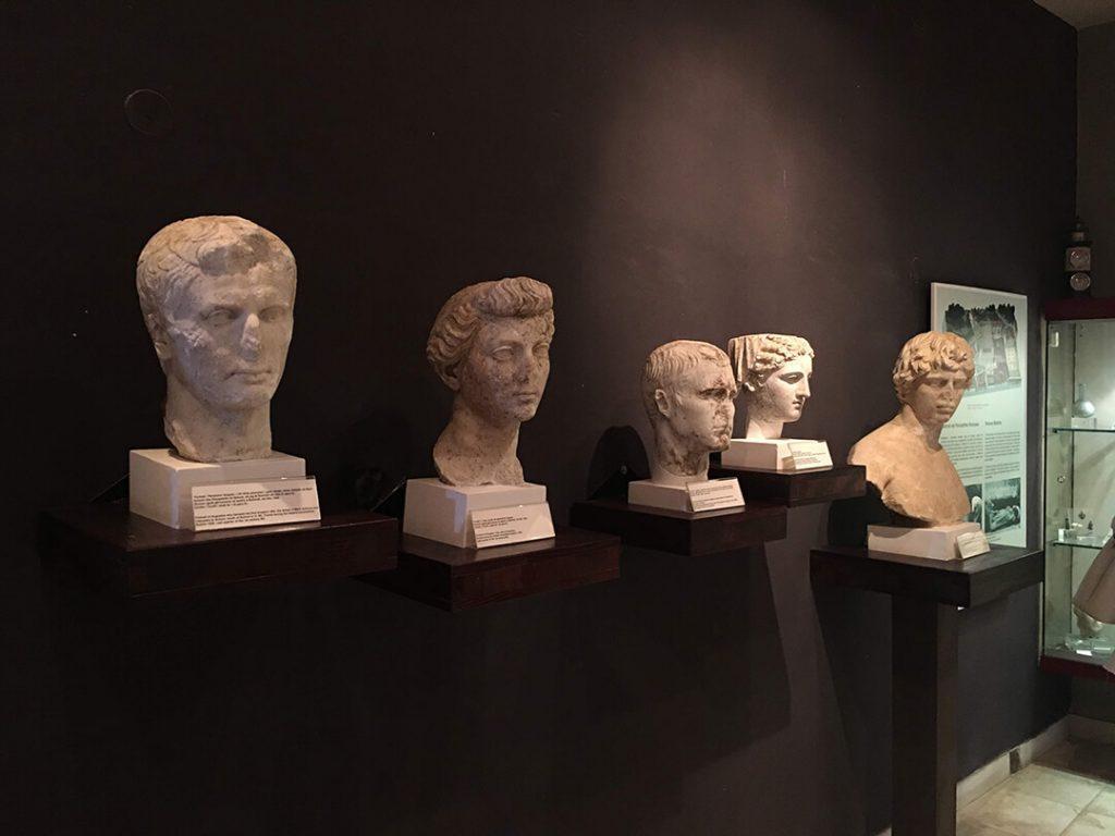 sculptures museum butrint albania