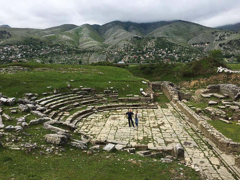 adrianople roman ruins gjirokaster