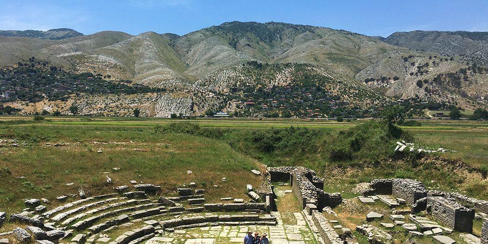 adrianople roman ruins gjirokaster2