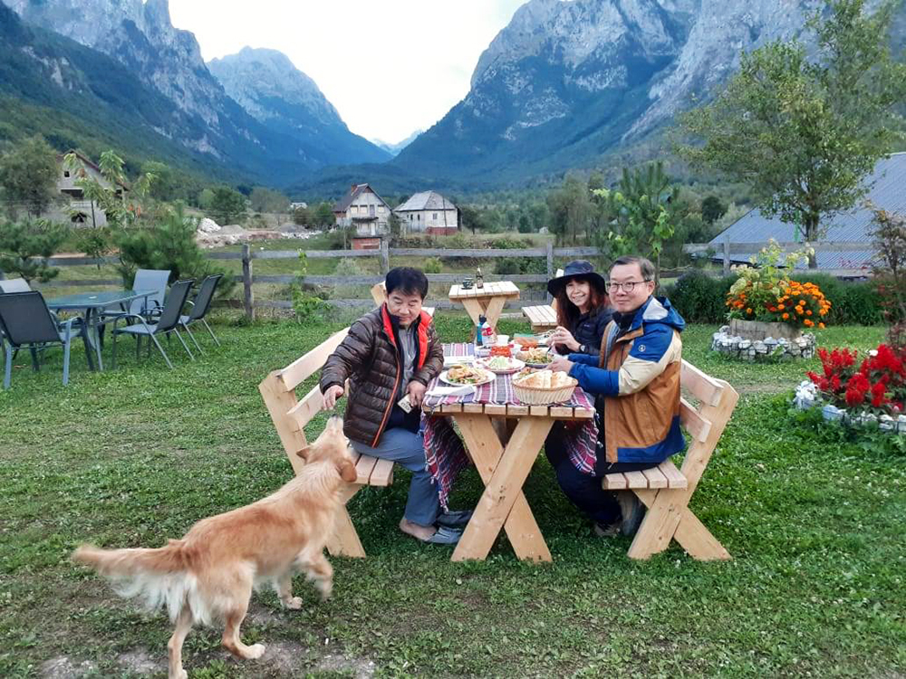 albanian alps accursed mountains