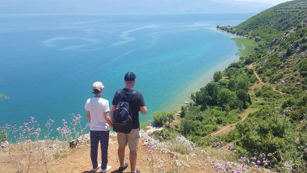 albanian riviera view family holiday